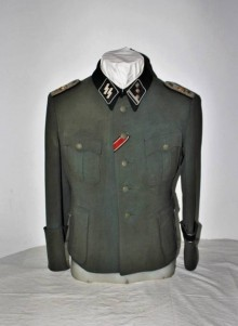 GIACCA UFFICIALE M36 W.SS ADOLF HITLER