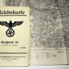 ORIGINAL MAP 1939 - REICHSKARTE