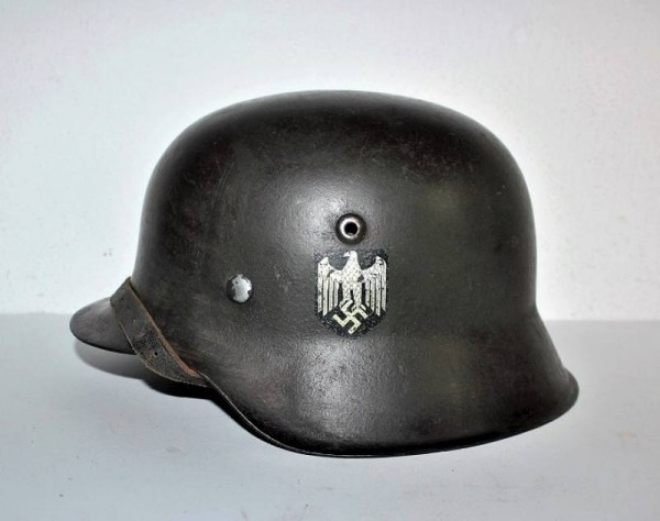 HELMET M42 SINGLE DEKAL WEHRMACHT