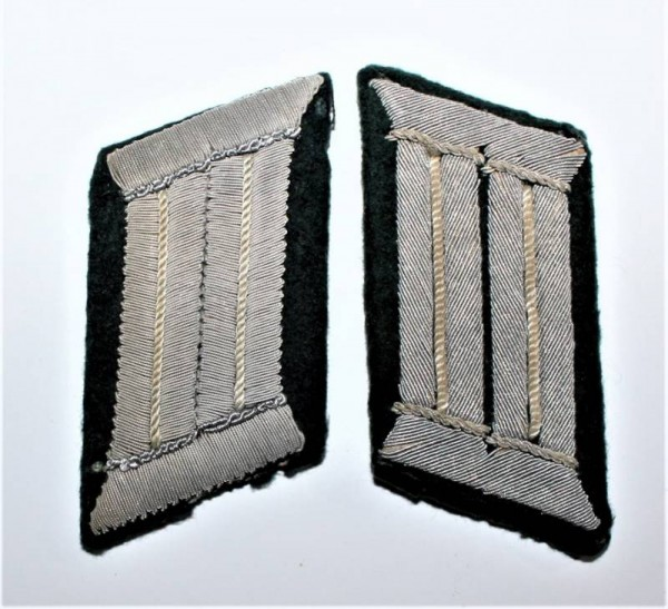 OFFICER´S COLLAR TABS WH INFANTERY